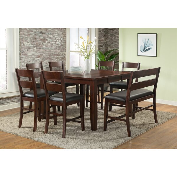 Viola Heights Counter Height Extendable Dining Table by Vilo Home Inc.