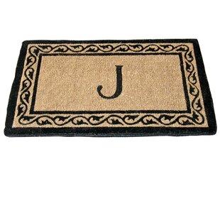 Monogram Mat Creel Ivy Border Coco Doormat