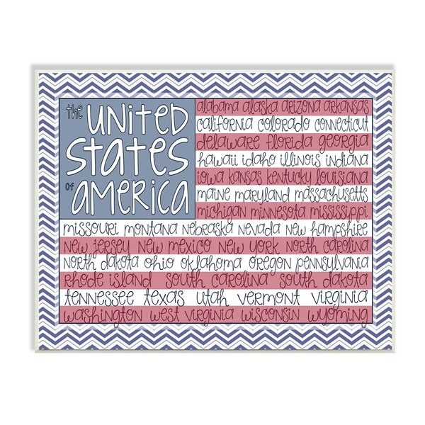 Kleckner United States of America Flag Wall Plaque by Zoomie Kids