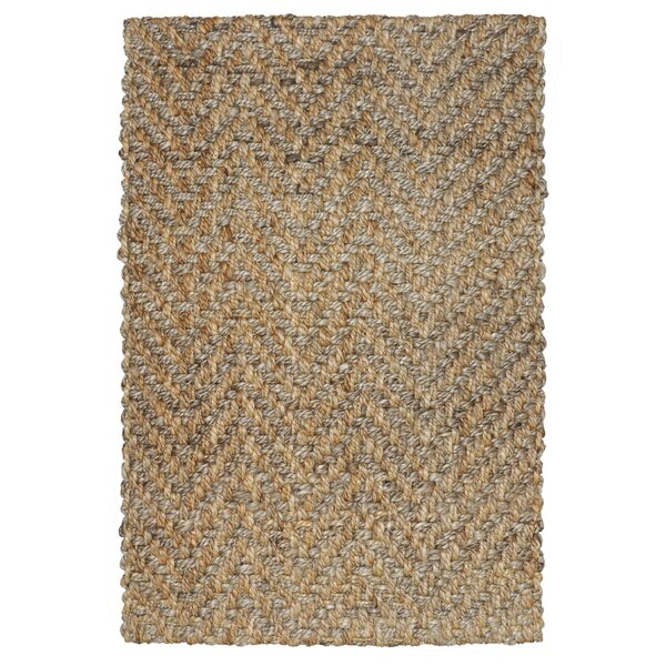Shayla Hand-Woven Brown Area Rug by Kosas Home