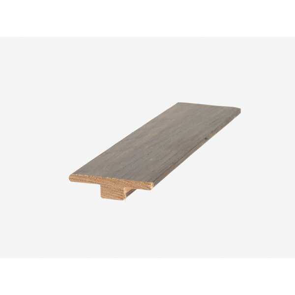 0.56 x 2 x 84 Hickory T-Molding in Charcoal by Mohawk Flooring