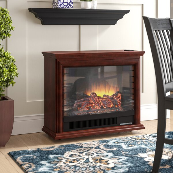 McGregor Mobile Electric Fireplace By Charlton Home