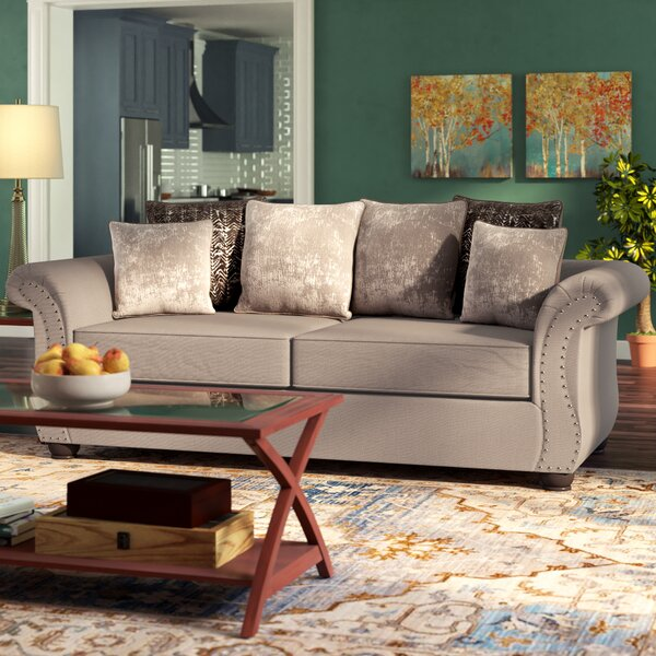 The Most Stylish And Classic Agnes Sofa by Alcott Hill by Alcott Hill