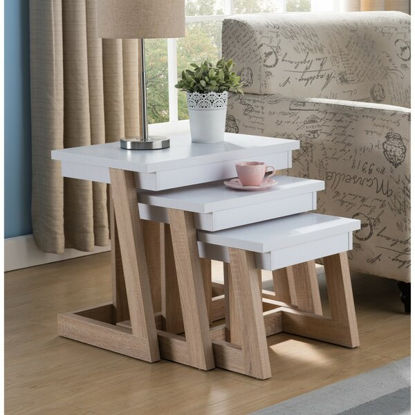 Aldridge 3 Piece Nesting Tables by Latitude Run