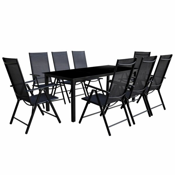 Barstow 9 Piece Dining Set by Bay Isle Home