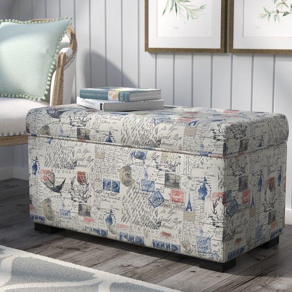 Pavot Fabric Storage Bench by Lark Manor Lark Manor