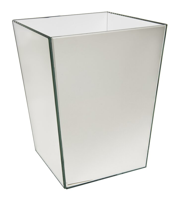 wildon home ® crystal waste basket & reviews | wayfair