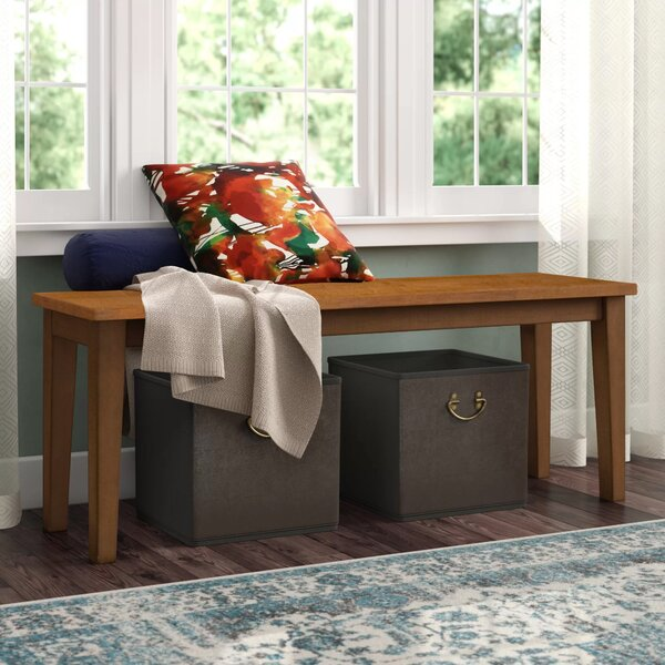 Antrim Solid Wood Bench By Alcott Hill®