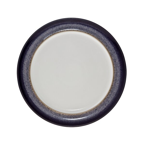 Heather 9.5 Wide Rimmed Salad Plate by Denby