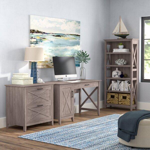 Oridatown 3 Piece Desk Office Suite by Beachcrest Home