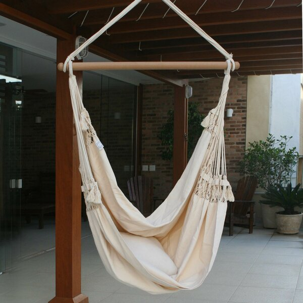 Cotton Chair Hammock by Novica