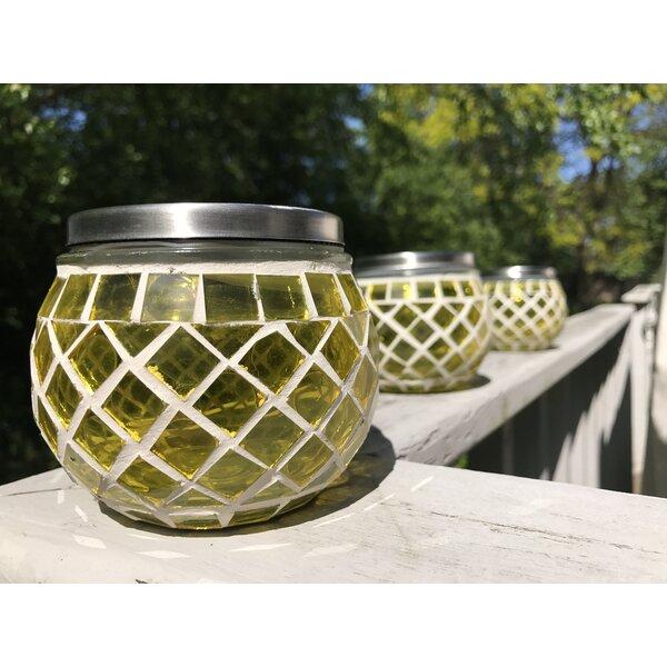 Mosaic Solar LED Deck Light (Set of 3) by Pomegranate Solutions, LLC