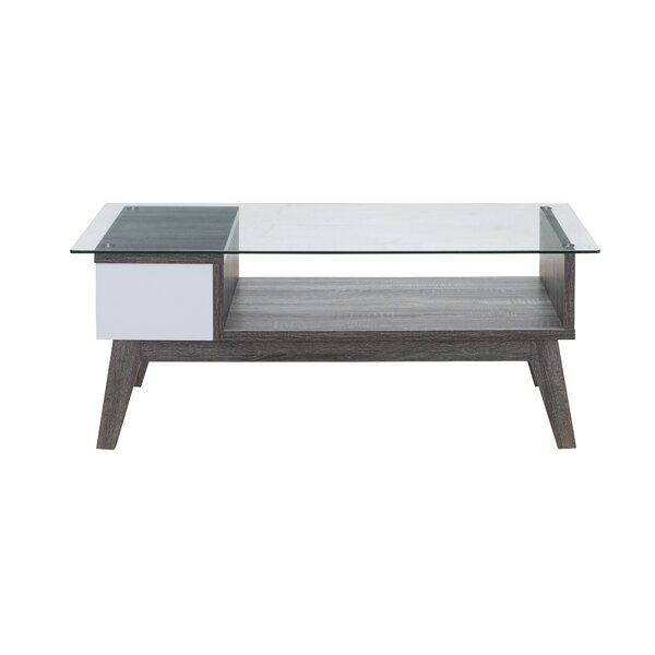 Lana Glass Coffee Table by George Oliver