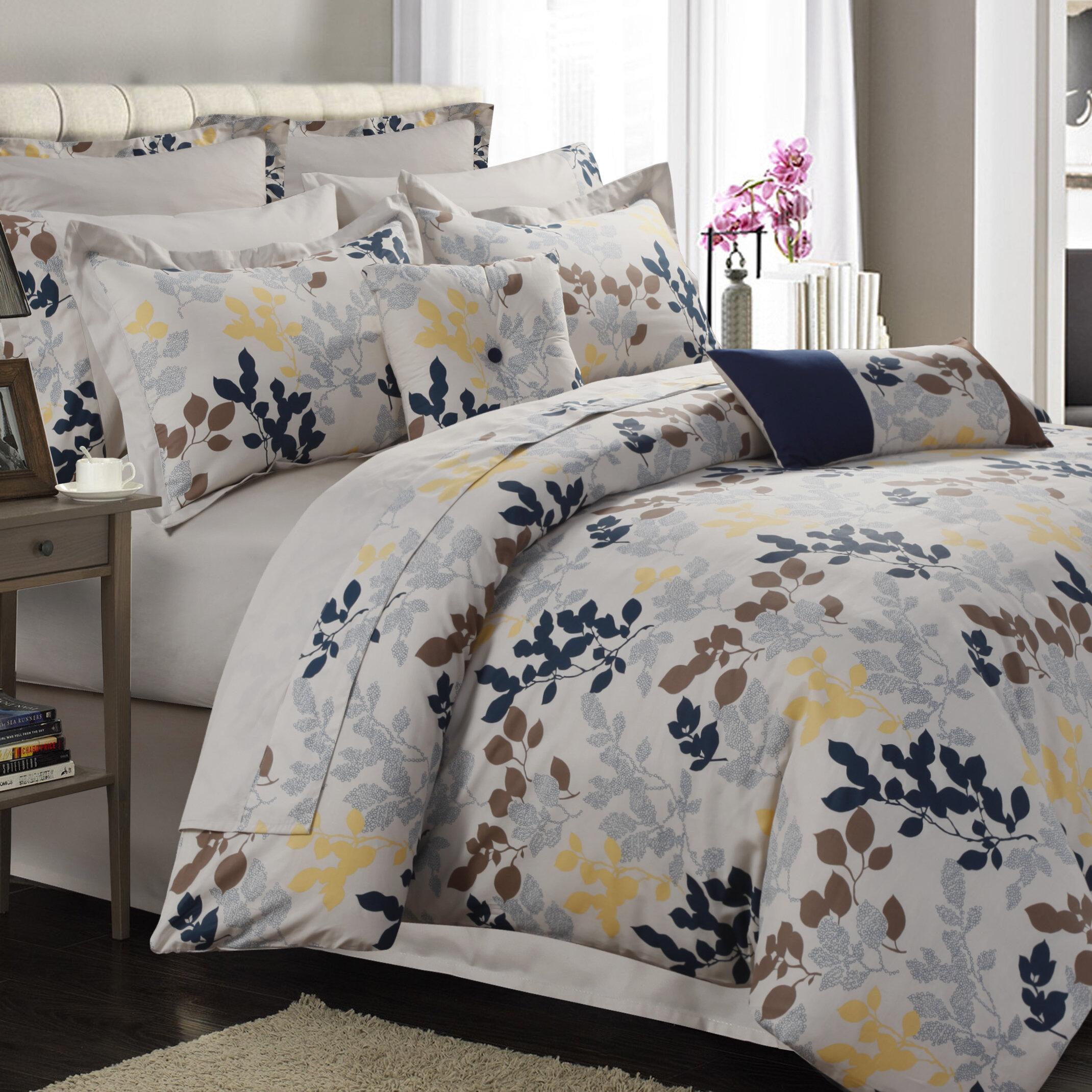 Charlton Home Renay 12 Piece Comforter Set Reviews Wayfair