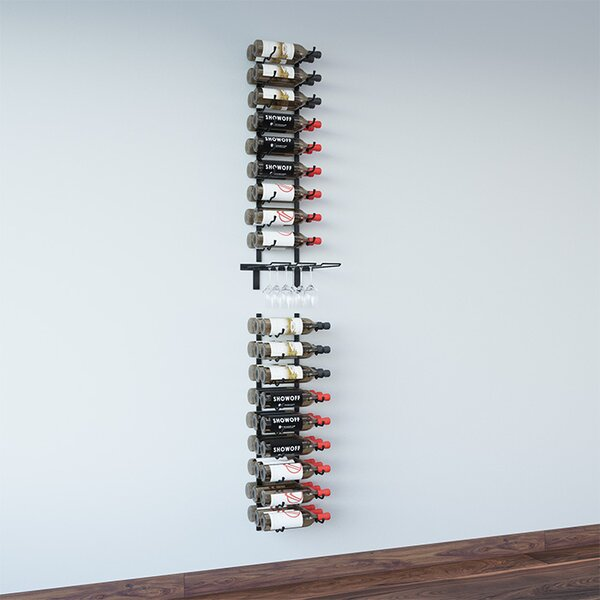 Wall Series 45 Bottle Wall Mounted Wine Bottle Rack by VintageView VintageView
