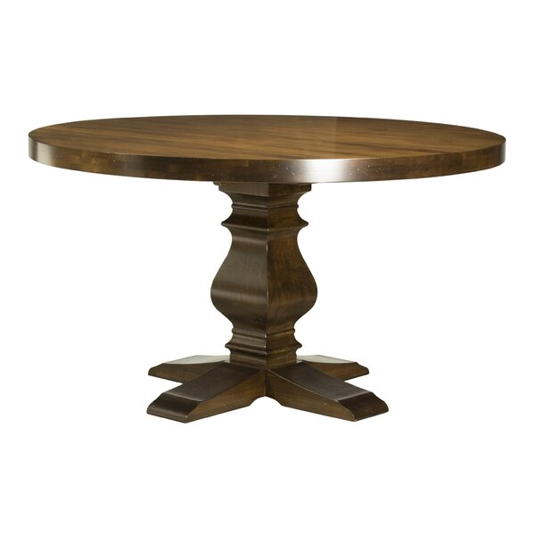 Gaspard Maple Solid Wood Dining Table by Darby Home Co