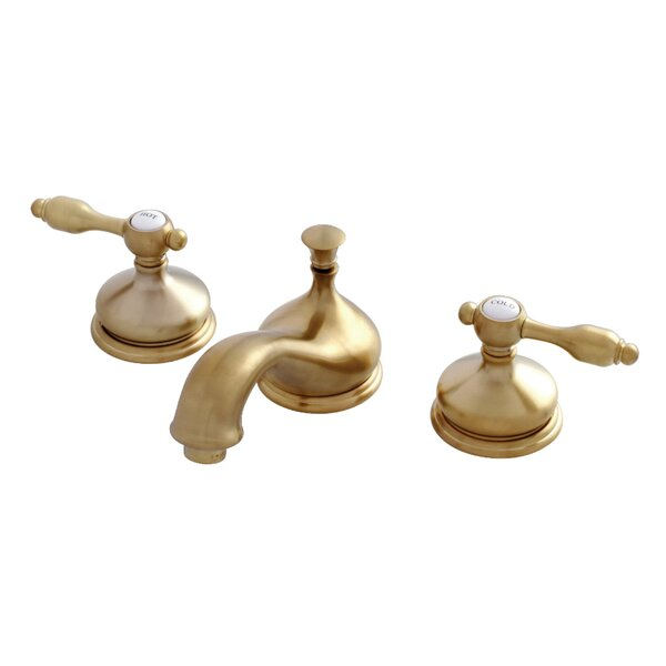 Tudor Widespread Bathroom Faucet with Drain Assembly by Kingston Brass Kingston Brass