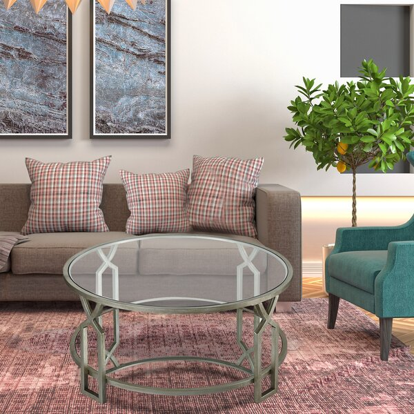 Schuh Coffee Table By Everly Quinn