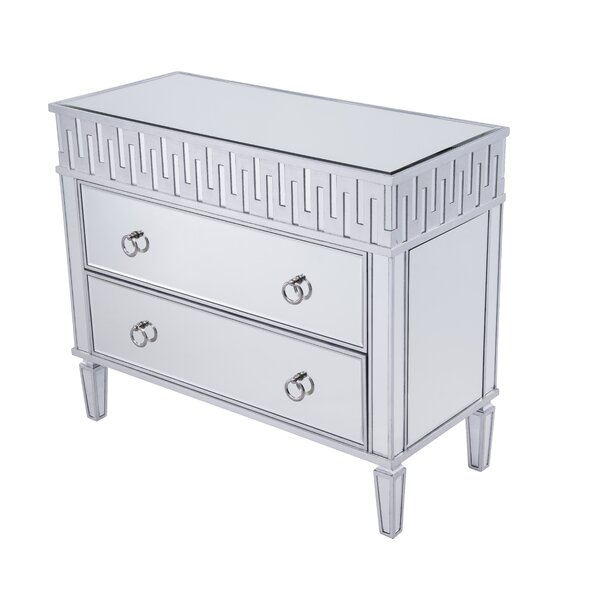 Emerita 2 Drawer Accent Chest by Rosdorf Park