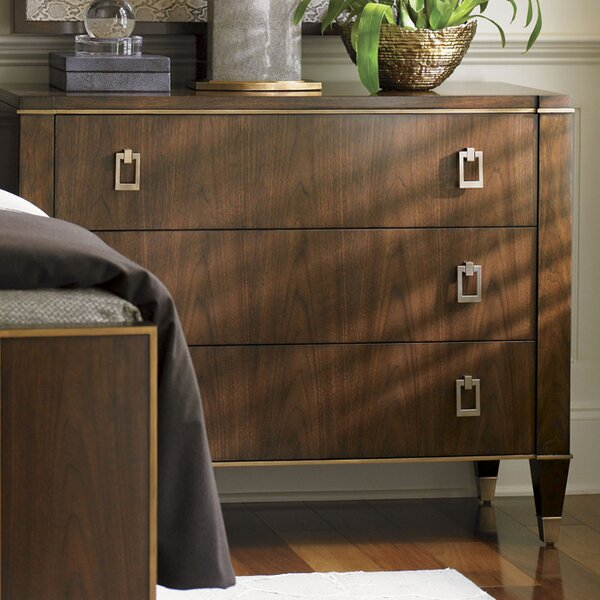 New Design Tower Place Evanston 3 Drawer Dresser By Lexington Today Only Sale