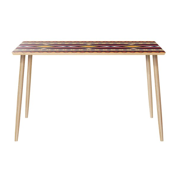 Hutchcraft Dining Table by Bungalow Rose