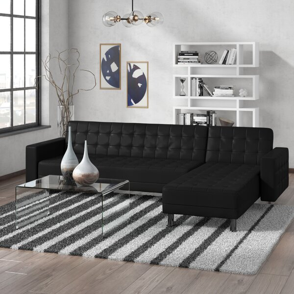 #2 Rosina Reversible Sleeper Sectional By Zipcode Design Purchase