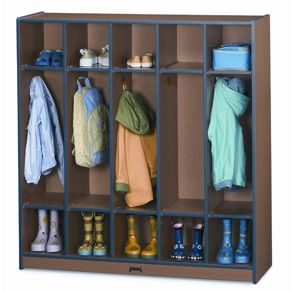 Rainbow Accents® 5 Section Coat Locker by Jonti-Craft