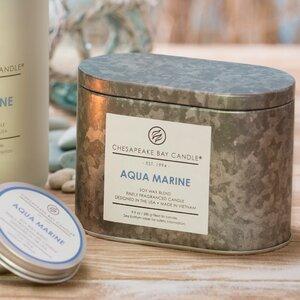 Heritage Aqua Marine Scented Jar Candle