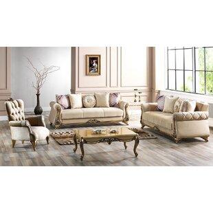 Dawley 4 Piece Sleeper Living Room Set by Rosdorf Park