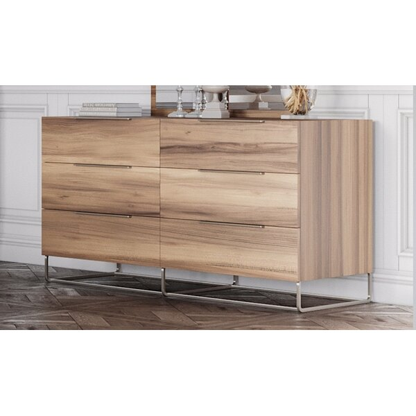 Kingon 6 Drawer Double Dresser by Brayden Studio