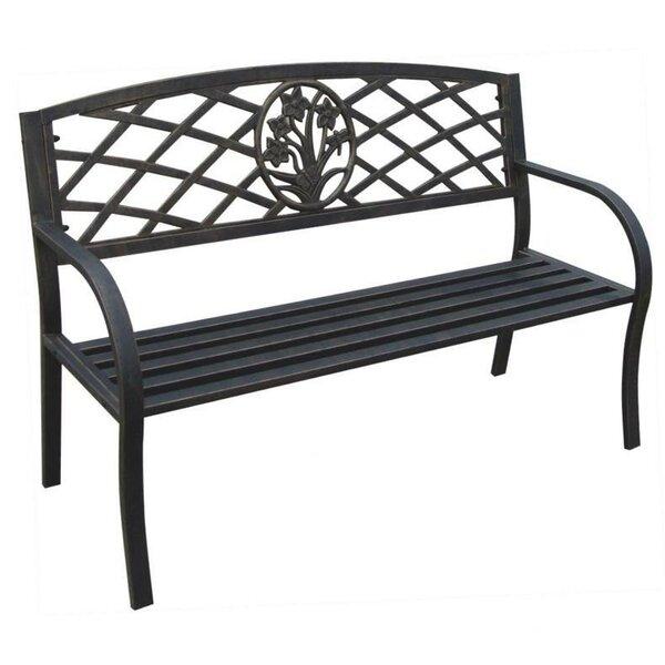Sawyer Metal Garden Bench by August Grove