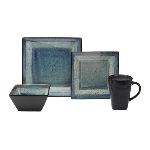 Adriatic 16 Piece Dinnerware Set, Service for 4 by