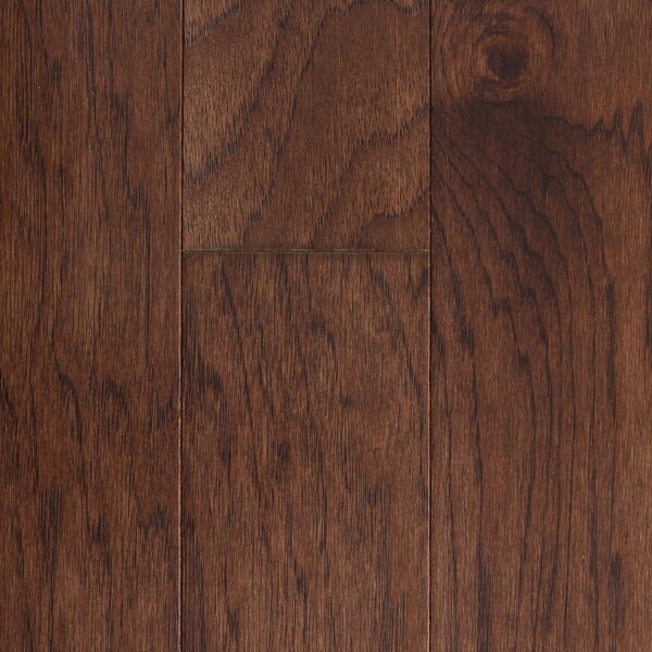 Prague 5 Engineered Hickory Hardwood Flooring in Chocolate by Branton Flooring Collection