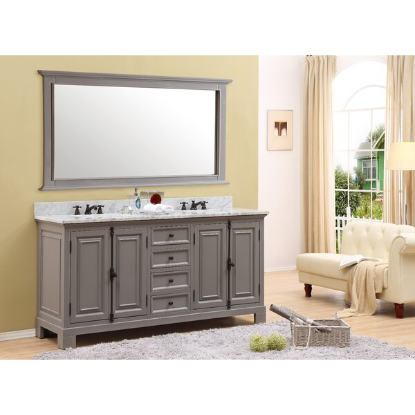 Phoenix 60 Double Bathroom Vanity Set by Alcott Hill