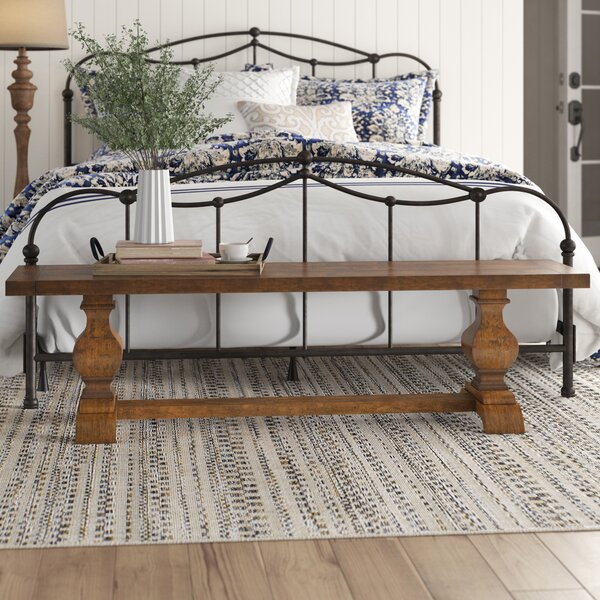 Meehan Wood Bench by Birch Lane™ Heritage