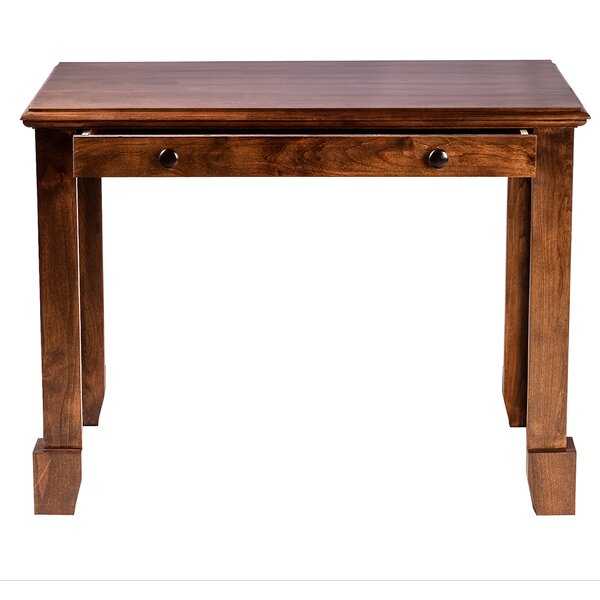 Jeremy 66 W Drawer Writing Desk by Millwood Pines