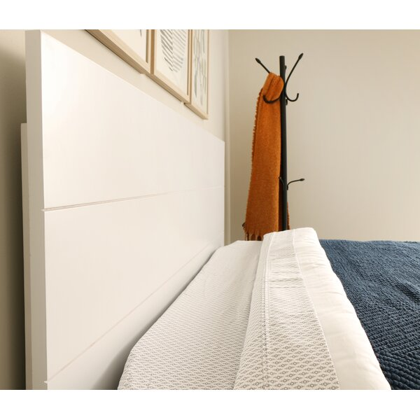 Madrid Panel Headboard by Rosecliff Heights