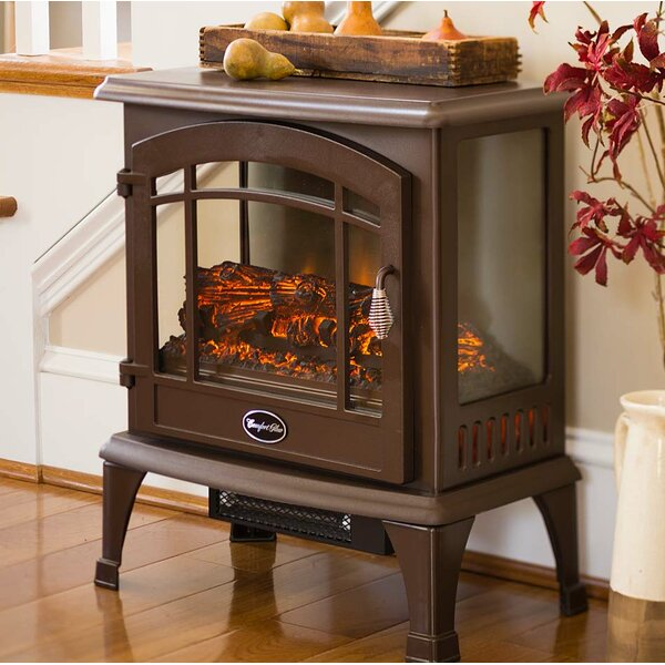 Panoramic 1000 sq. ft. Vent Free Electric Stove by Plow & Hearth