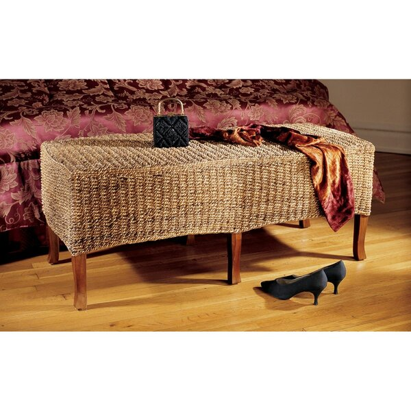 Balinese Wood Bench by Design Toscano