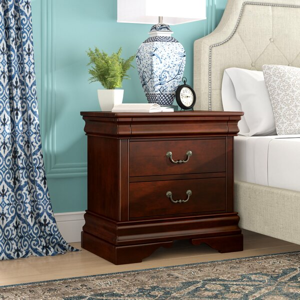 Raina 2 Drawer Nightstand By Alcott Hill by Alcott Hill #1