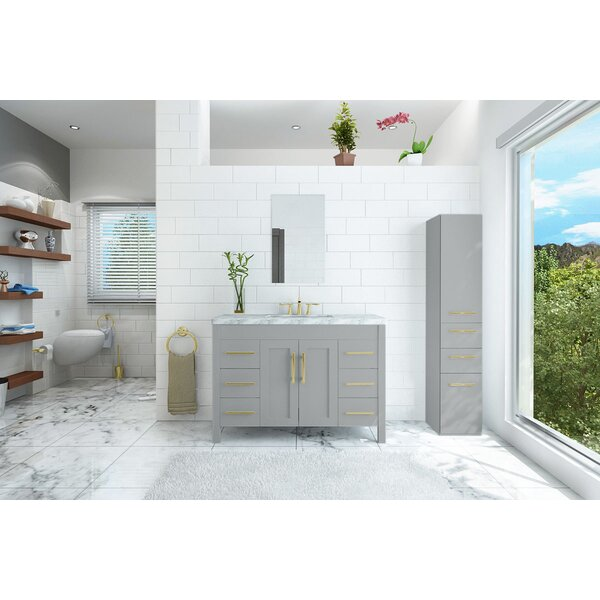 Mooneyhan 47 Single Bathroom Vanity Set by Wrought Studio