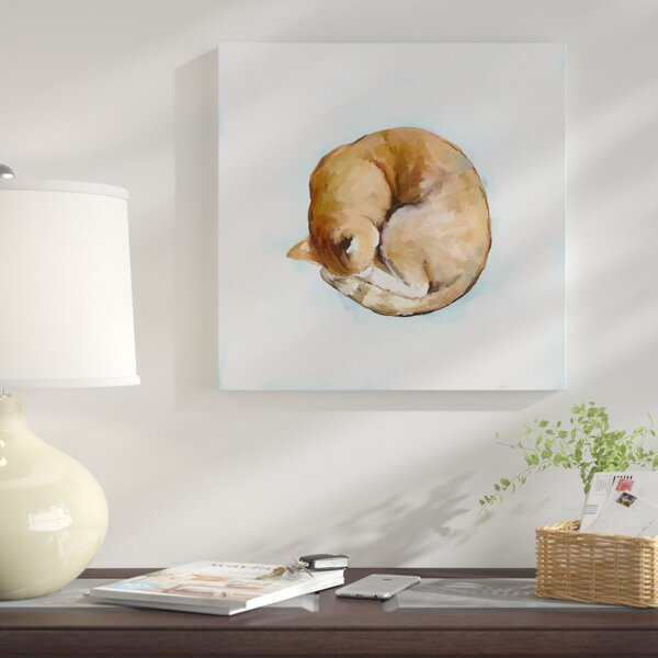 Winston Porter Little Cat By Cathy Walters Print On Wrapped Canvas Wayfair