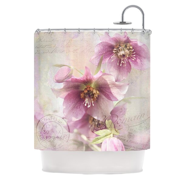 Hellabore Shower Curtain by East Urban Home