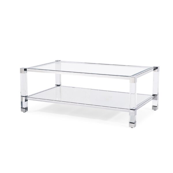 Santa Monica Coffee Table With Storage By Blink Home