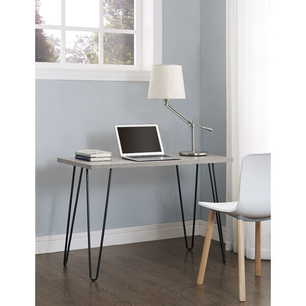 Bronstein Rectangular Writing Desk By Mercury Row.