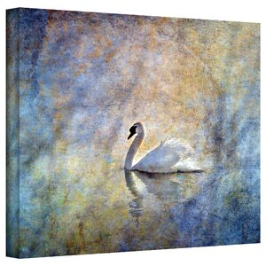 The Swan by Antonio Raggio Painting Print on Canvas by Alcott Hill