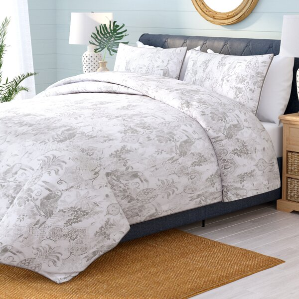 Java Coastal Comforter Set by Beachcrest Home