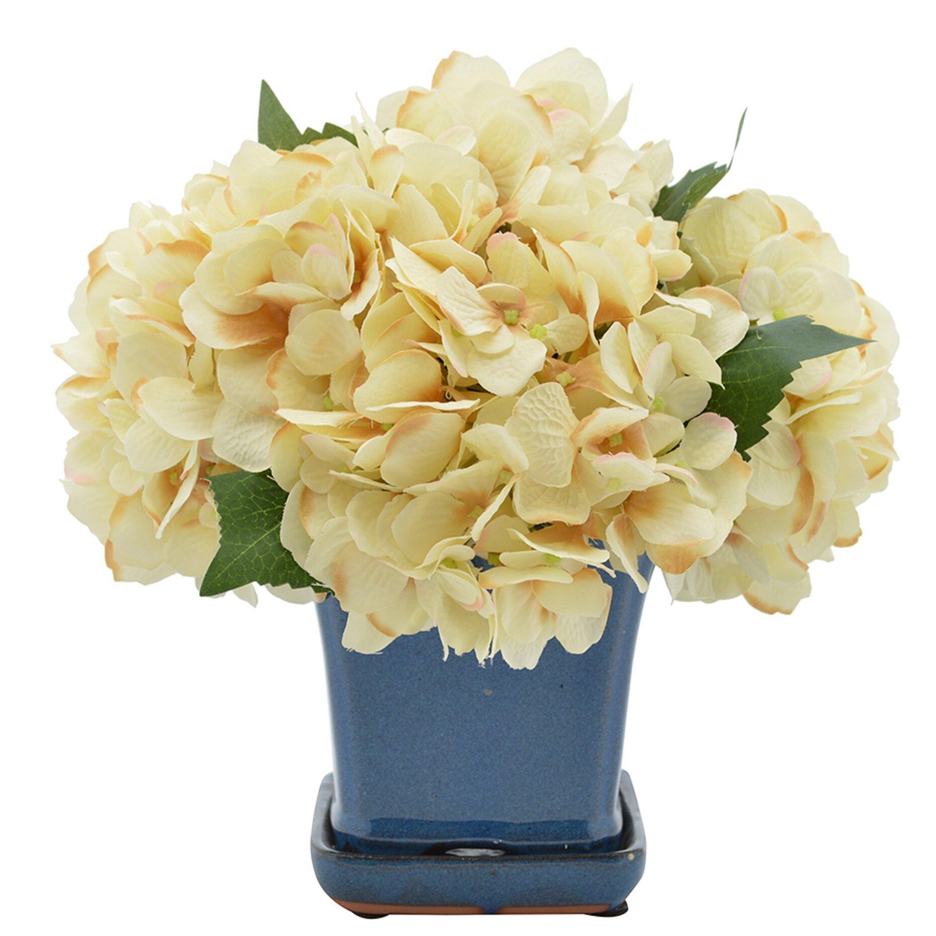 Hydrangeas Floral Arrangement In Pot Joss Main