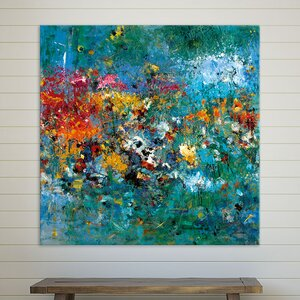 ''Carpe Diem 1' Oil Painting Print on Canvas by Latitude Run