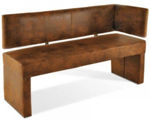sam stil art m bel gmbh gepolsterte k chenbank lilo aus holz. Black Bedroom Furniture Sets. Home Design Ideas
